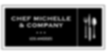 Chef Michelle Logo BW.png