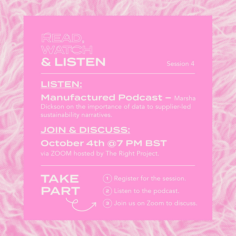 Read, Watch & Listen: Session 4