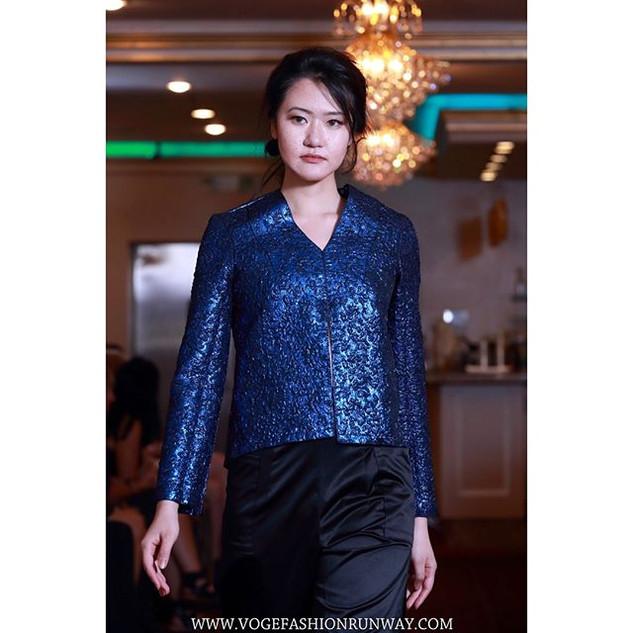 Designer @aao_chicago  Model @yaxinhan