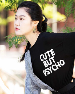Cute but psycho #streetphotography #stre
