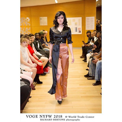 Walk for @lleya_p. #nyfw #Voge . . . . .