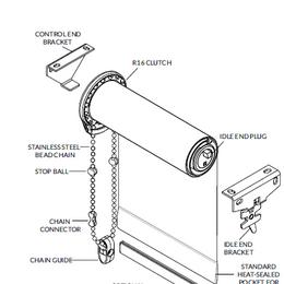 Manual R Series Roller Shades