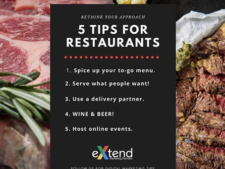 Great tips for restaurants from our partners!