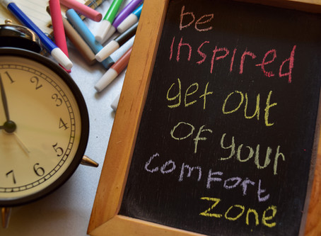 Easy Things to Try to Begin to Eek Out of Your Comfort Zone