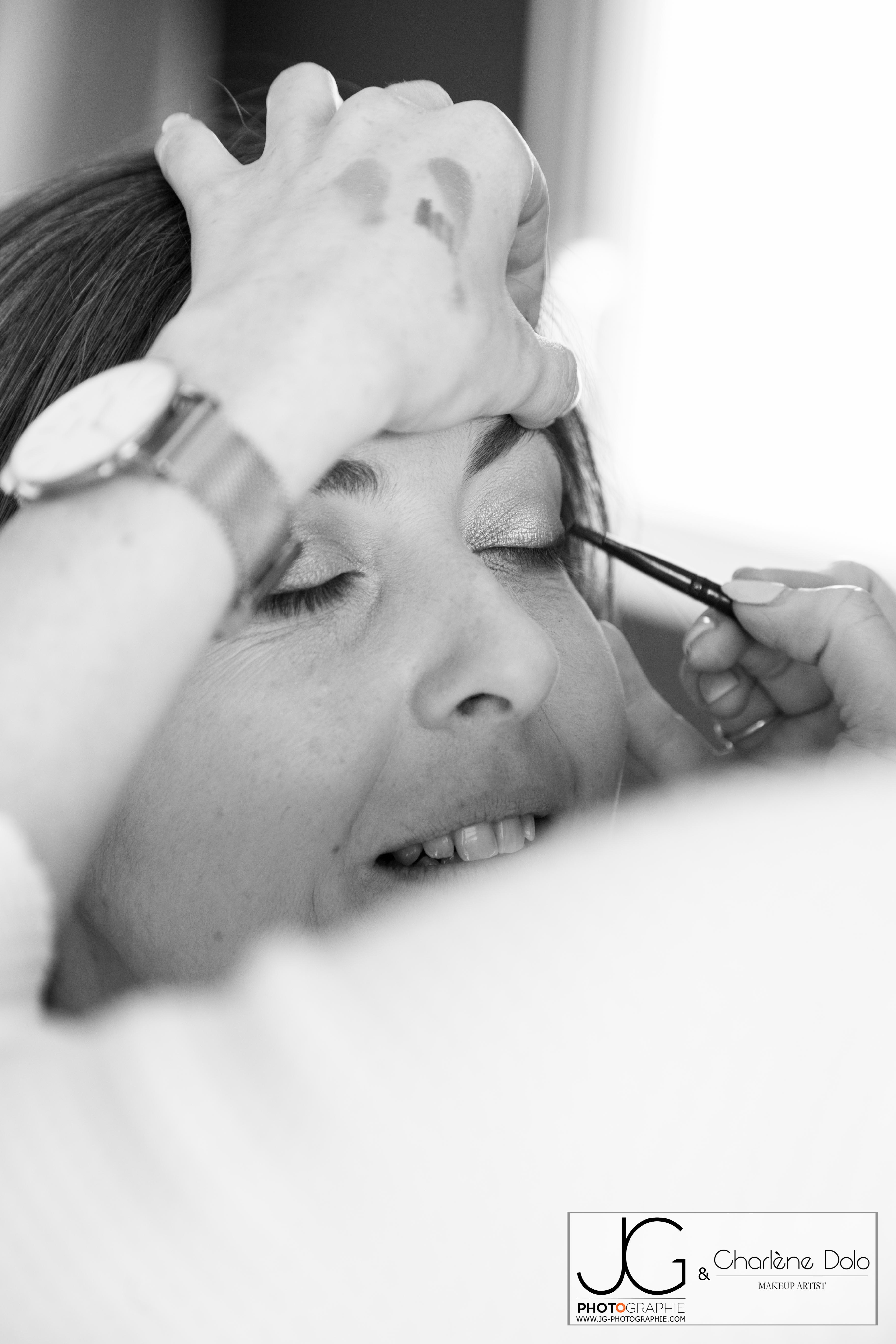 Séance Maquillage pour shooting