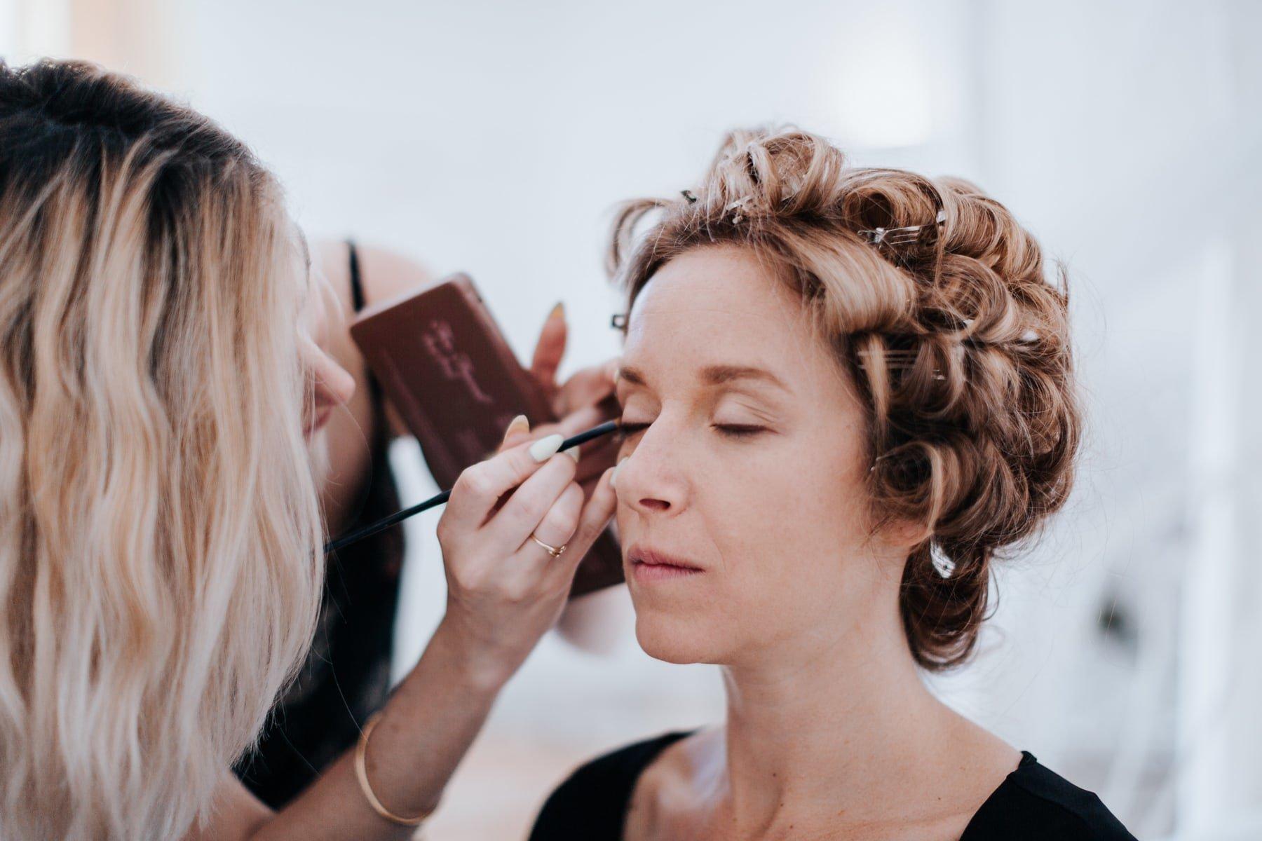 Mise en beauté maquillage