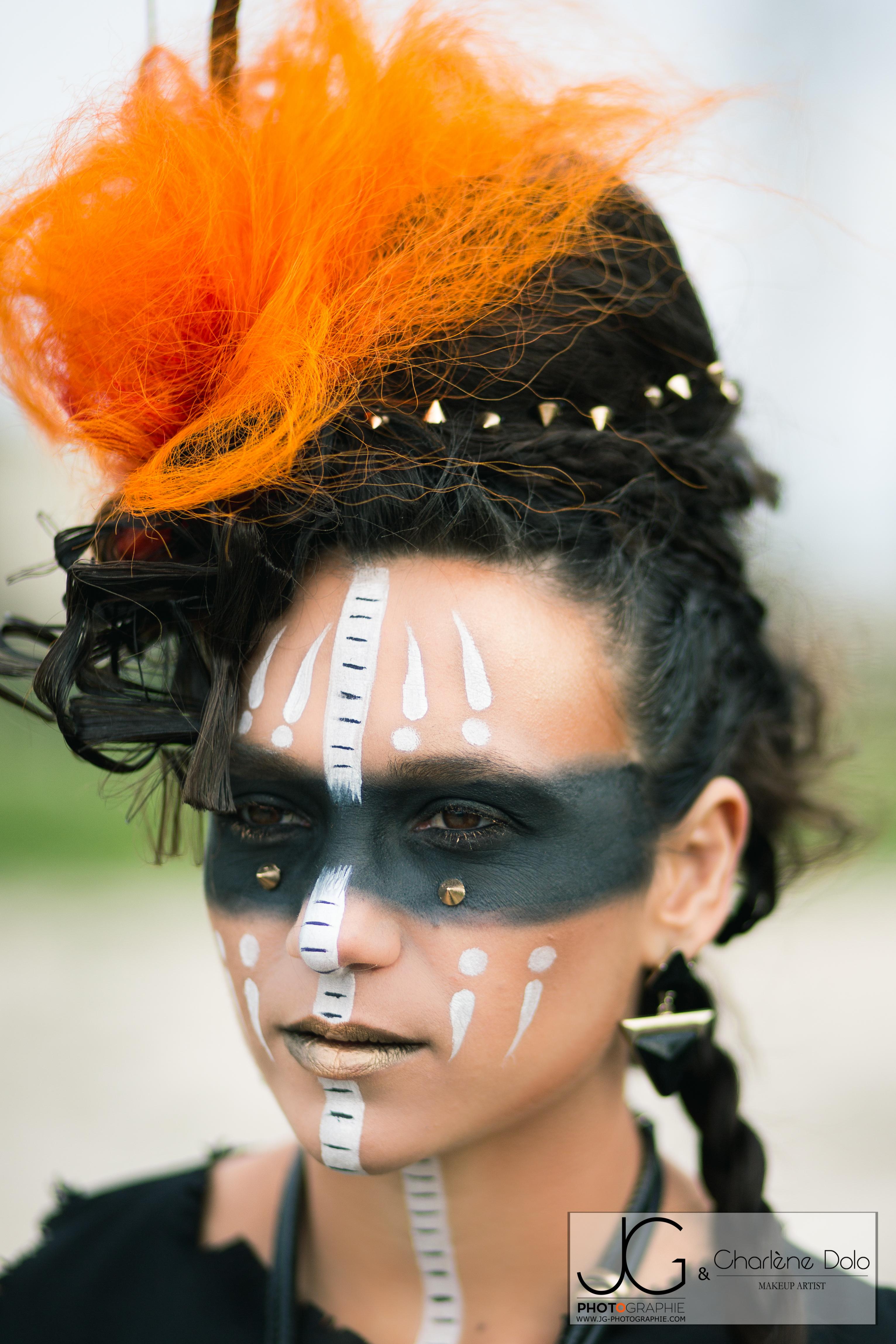 Maquillage Artistique Ethnique
