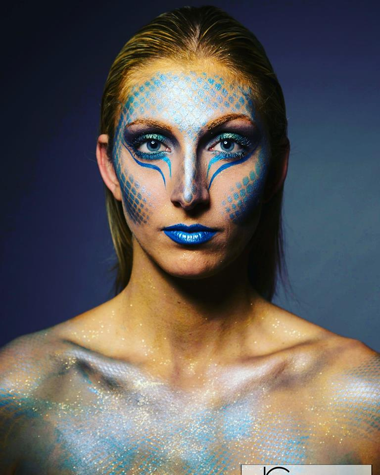 Maquillage Artistique Mermaid