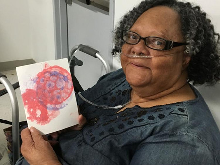 Arts for All, West Feliciana Council On Aging hold art class