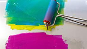 """Gel or """"Gelli"""" Printing - A forgiving Art Practice"""