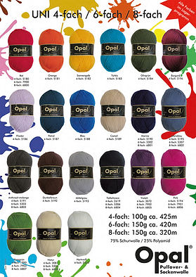 Opal Uni Collection Sock Yarn Wool Purchase Buy Delivery NZ