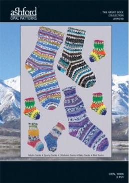 Ashford Opal Sock Wool Yarn Knitting Patterns Buy Purchase Delivery NZ