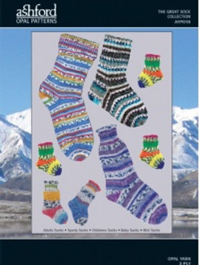 Opal Great Sock Collection Pattern Booklet