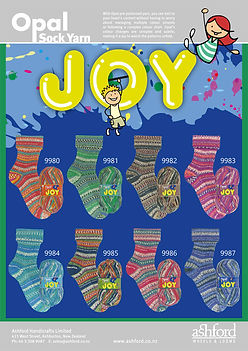 Opal Sock Wool Yarn Joy Collection Buy Purchase Delivery NZ