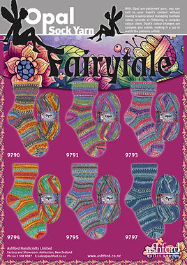 Opal Fairytale Collection Sock Yarn Wool Buy Purchase Delivery NZ