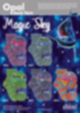 Opal Magic Sky Collection Sock Yarn Wool Buy Purchase Delivery NZ