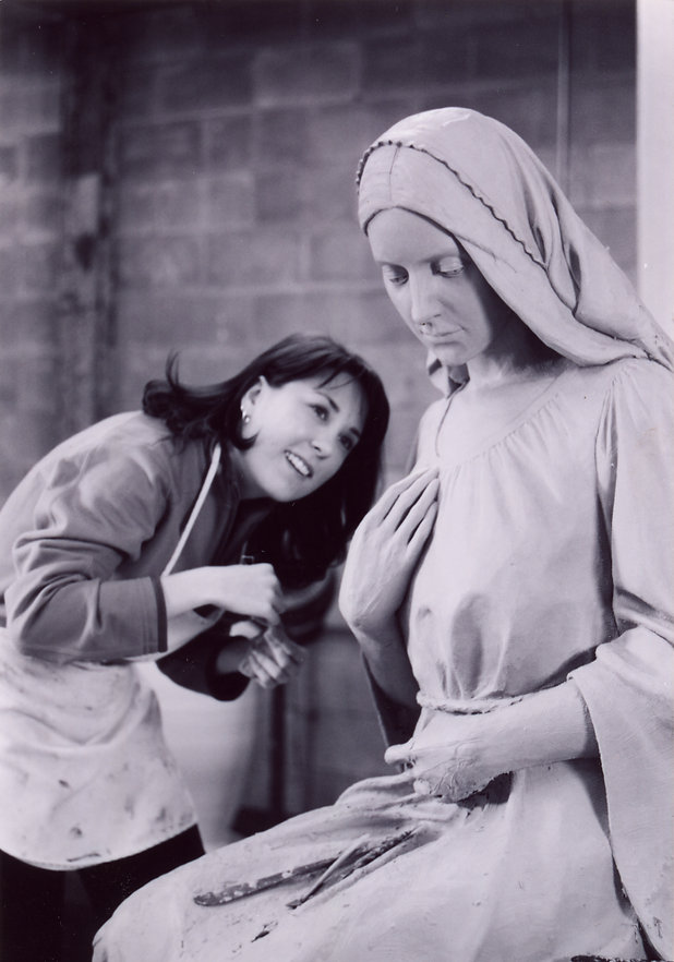 Sculptor and the Virgin Mary