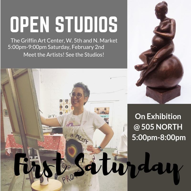 First Saturday: Fire in Ice and Open Studios
