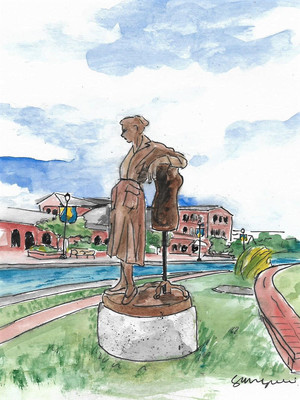 Frederick Art Club's Statue Proposal Gets Nod from Mayor Iconic Fashion Designer Claire McCardell Su