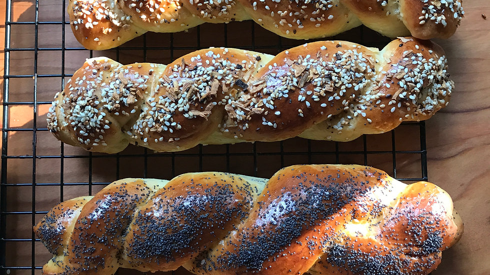 Challah Bread Sticks-All Flavors