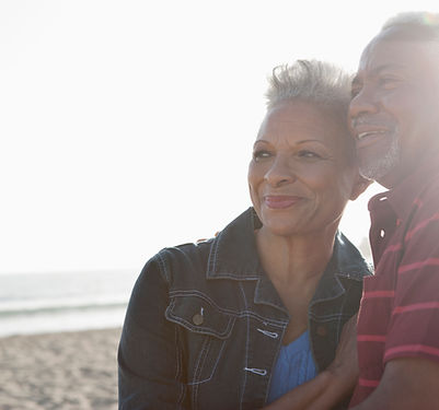 Image of a senior couple to represent Bioidentical Hormone Replacement Therapy