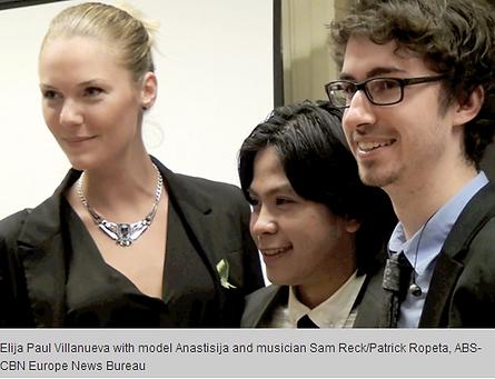 London Model: Pinoy Photographer Elija Paul Villanueva with Sam Reck and Anasttasija
