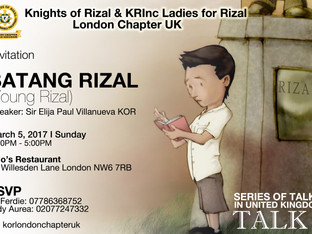 Young Rizal (Batang Rizal) - Speaker