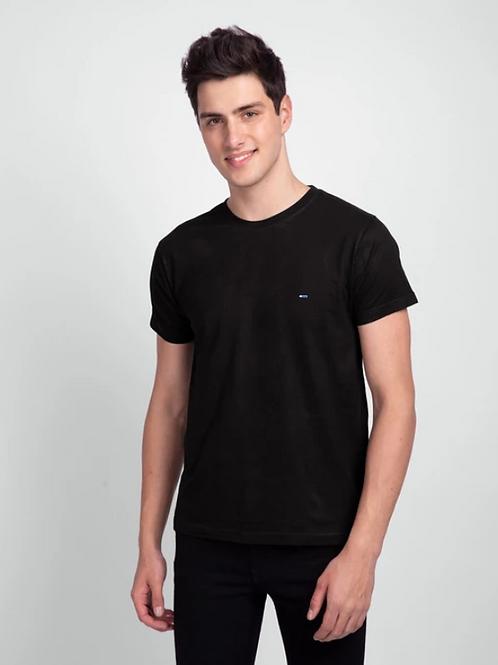 Black Half Sleeve T-Shirt