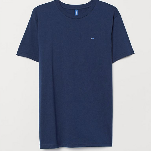 Airforce Blue Half Sleeve T-Shirt