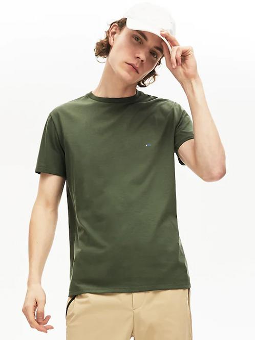 Olive Half Sleeve T-Shirt