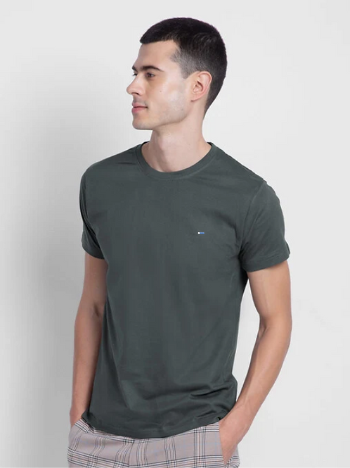 Dark Grey Half Sleeve T-Shirt