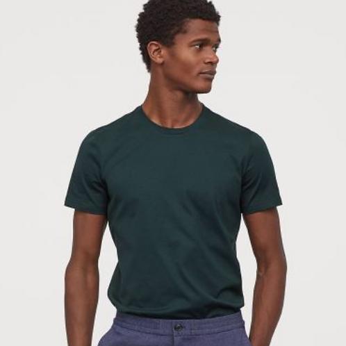 Forest Green Half Sleeve T-Shirt
