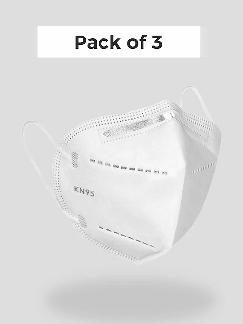 KN95 Mask Pack of 3