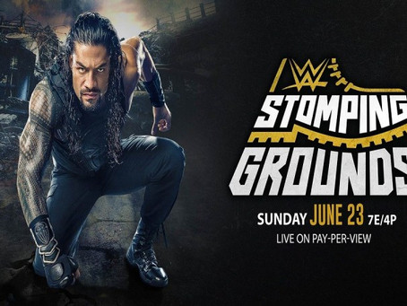WWE- Stomping Ground predictions
