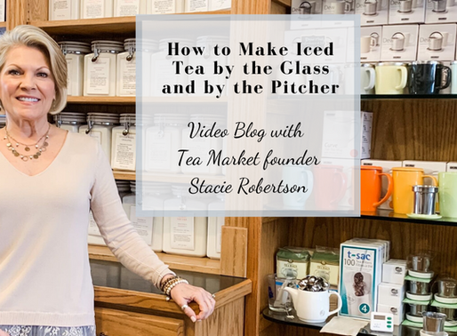 How to Make Iced Tea by the Glass and by the Pitcher