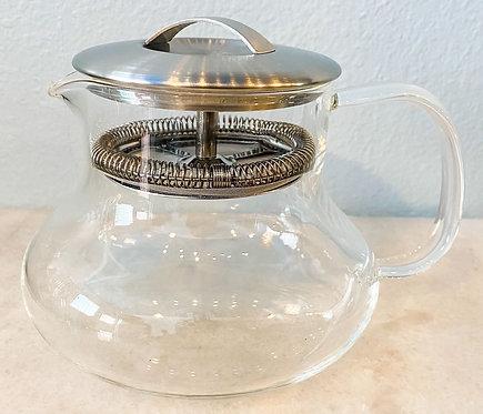 Yama Sitka 24 oz Glass Teapot & Filter