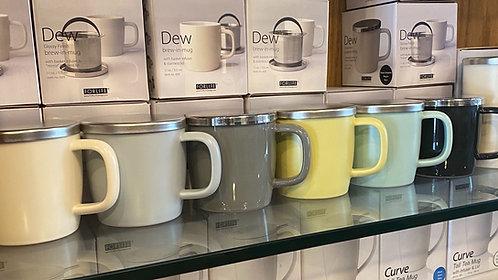 Dew 11 oz. Mug w/ Infuser & Lid