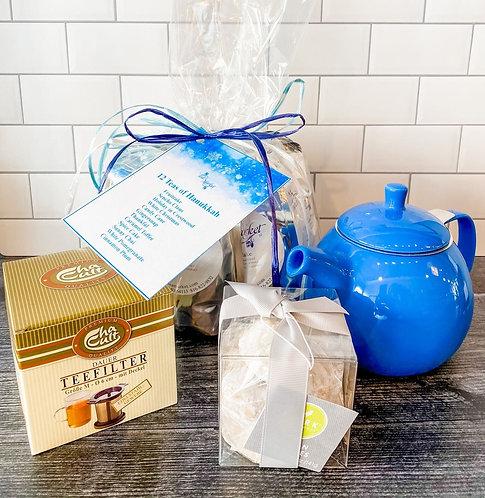 12 Teas of Hanukkah