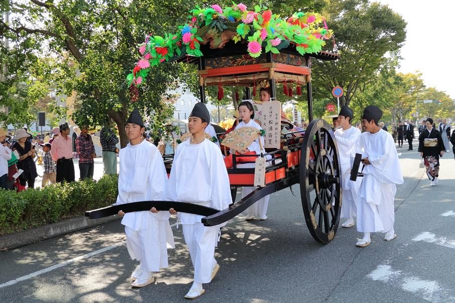 花神子社参式(10月第二日曜日)