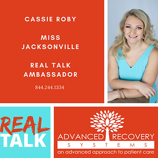 Cassie Roby Miss JAcksonville Real Talk