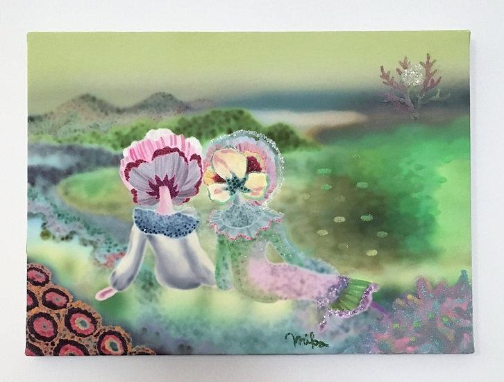 若草色の珊瑚の丘 / ハシモトミカ