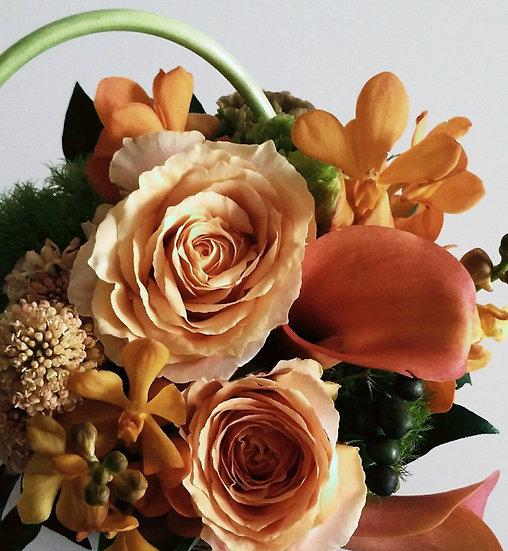 母の日のお花M オレンジ系