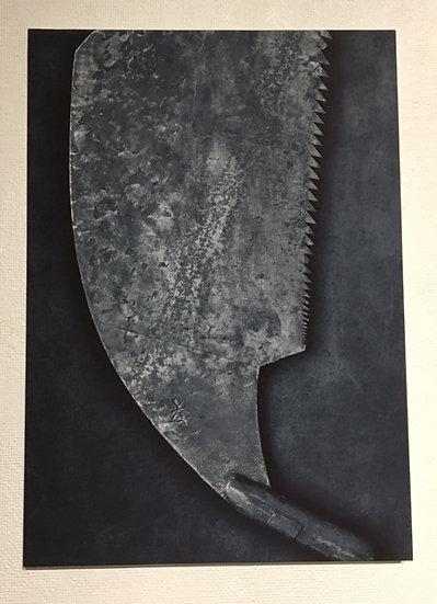 big saw belong to 東川哲夫