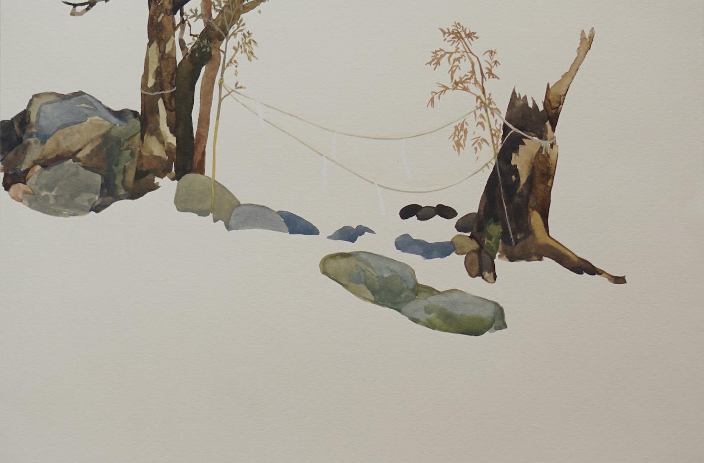 紙垂のある風景