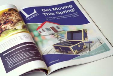 Spring Magazine Advert