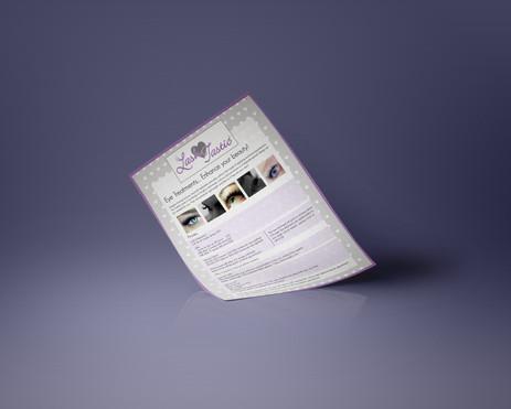 Lashtastic Flyer