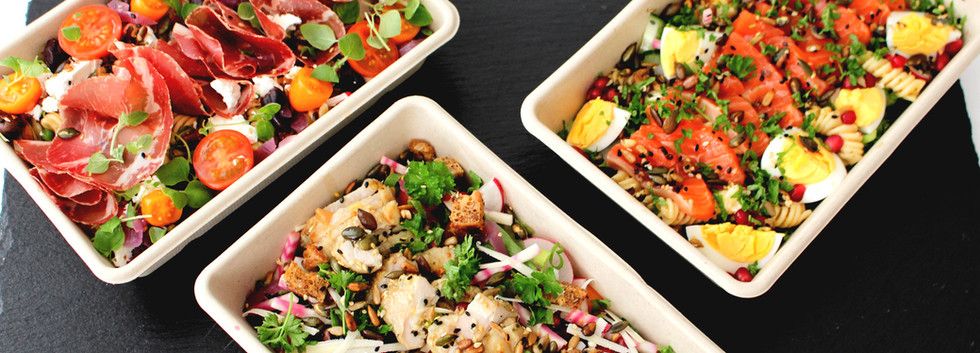 Velg salat i tre varianter