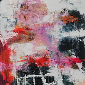art kunst painting schilderij abstract expressionisme, kunstenaar rotterdam elisabeth bieze veerbeek elisabethartstudio