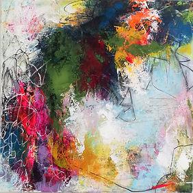 kunst, schilderij elisabeth veerbeek