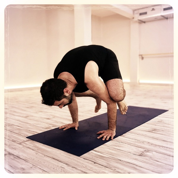 Crow Pose - Hot Yoga Barcelona